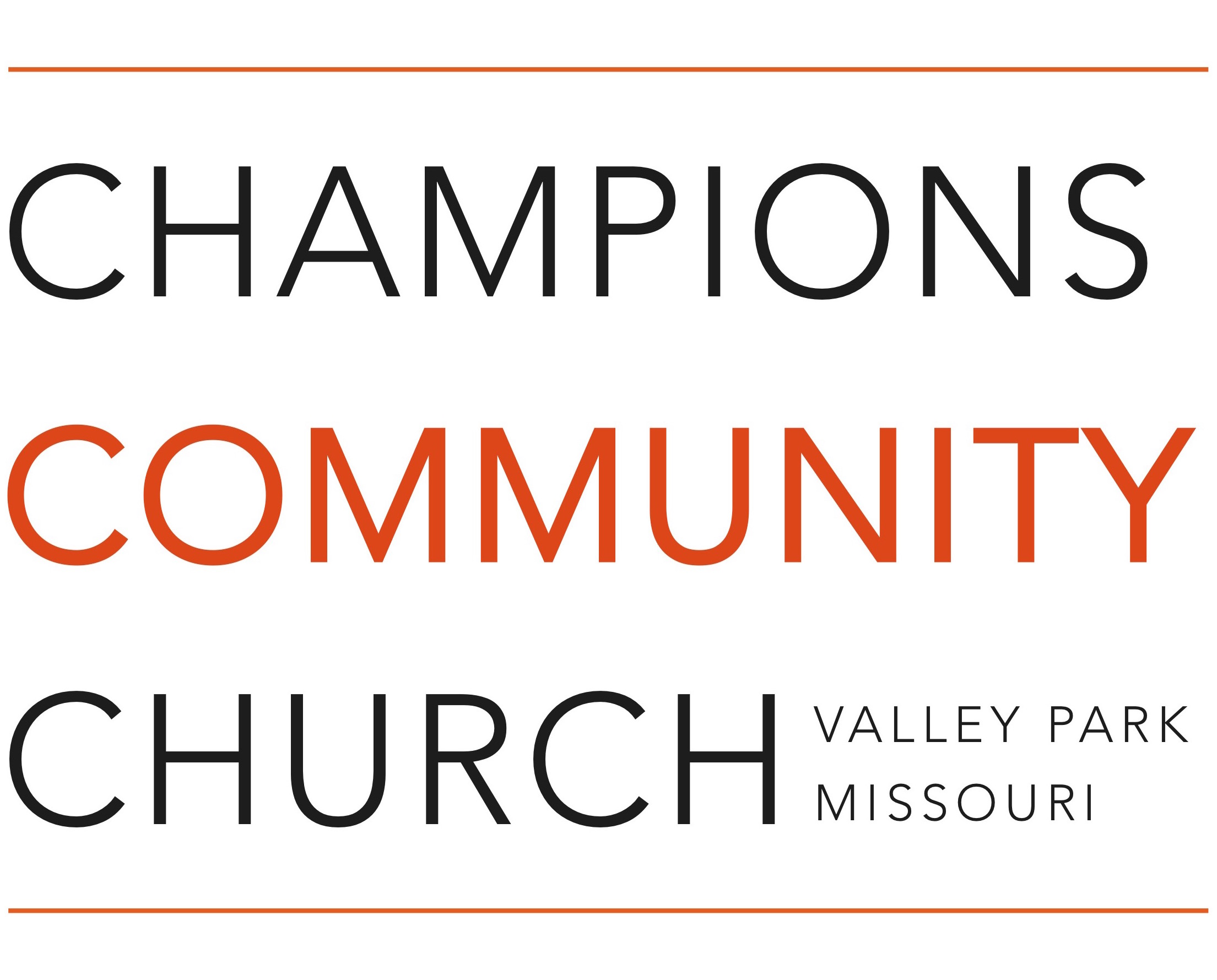 Champions Community Church: Valley Park
